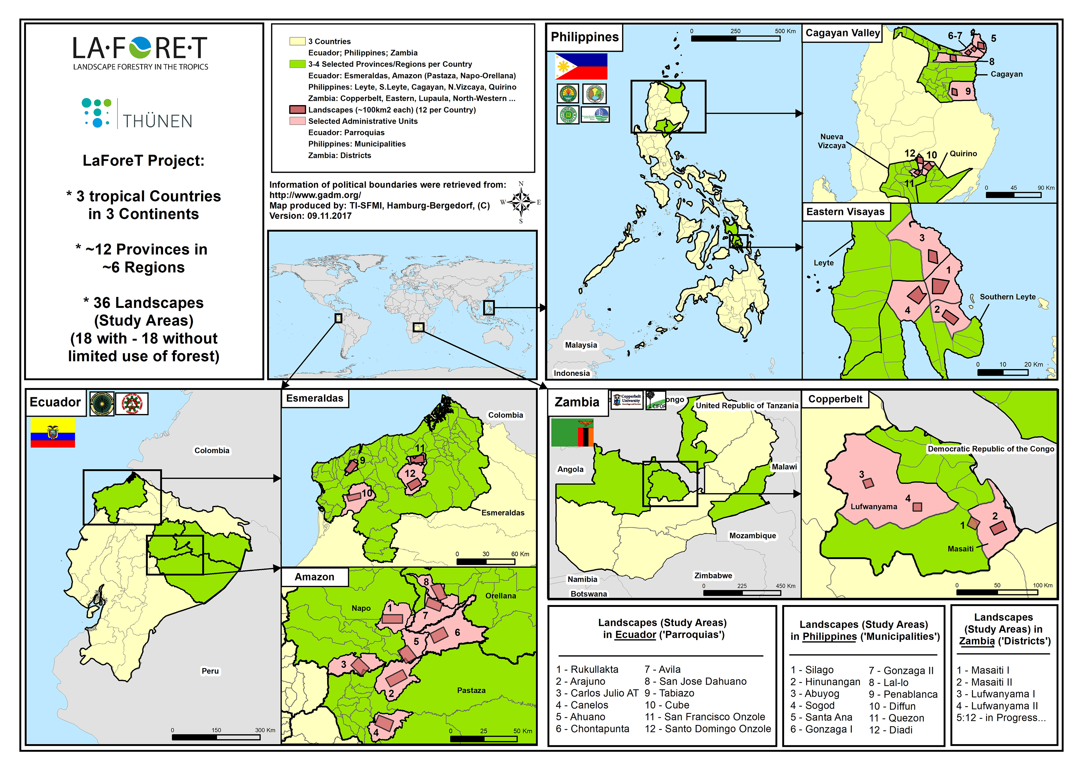 LaForeT Landscapes Overview Philippines